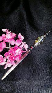 letter opener, flower